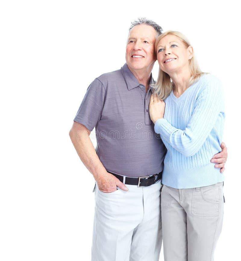 Älterpaare stockbild