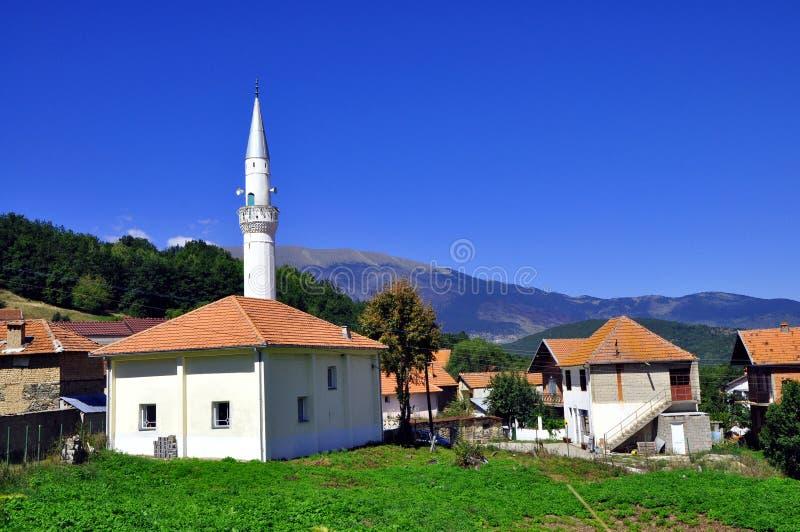 Älteste Moschee in den Balkan stockfotografie