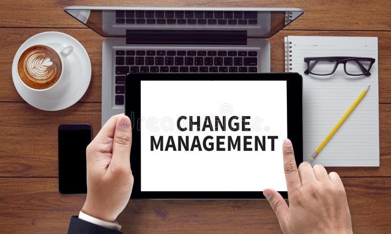 Ändern Sie Management stockfoto