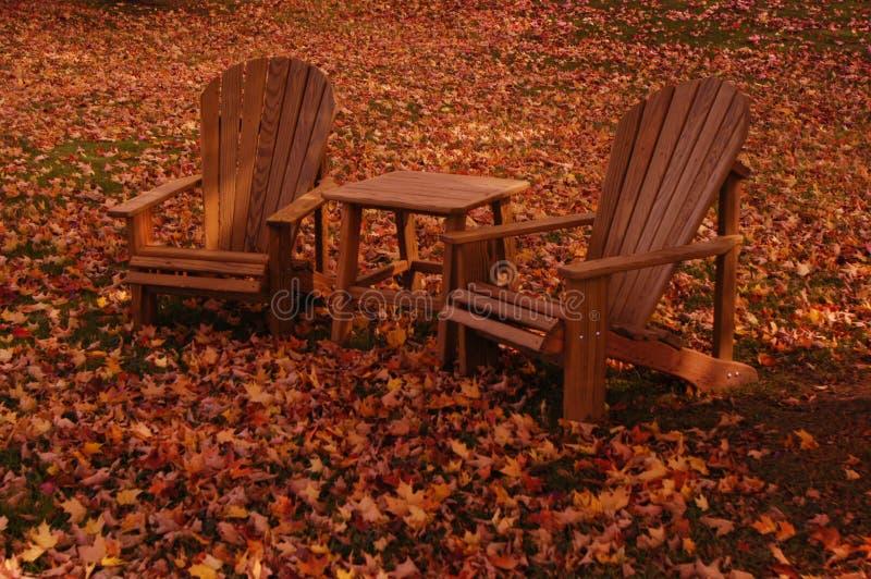 Download Ändernde Jahreszeiten stockbild. Bild von stühle, tourist - 47431