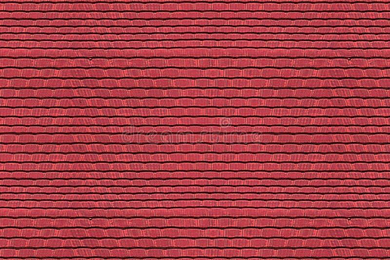 Ändlös textur för röd karmosinröd för tegelplattahorisontalrad abstrakt för bakgrund för modell grund för textur keramisk ljus royaltyfria bilder