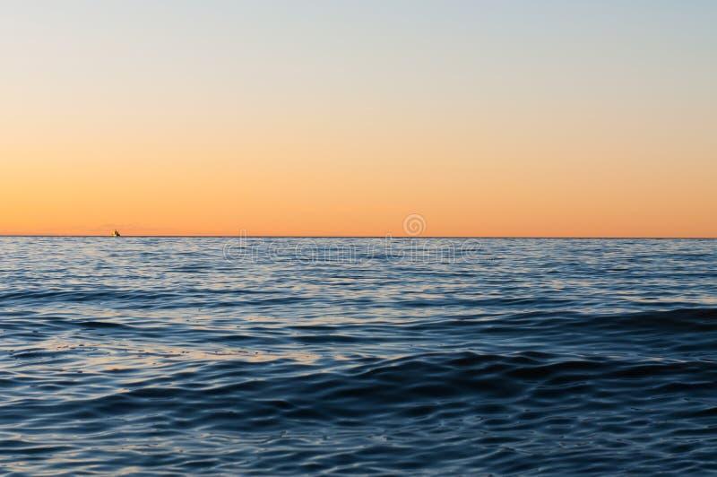 ändlöst hav fotografering för bildbyråer