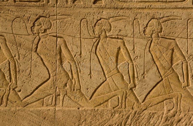 ändra nubian slavar royaltyfri foto