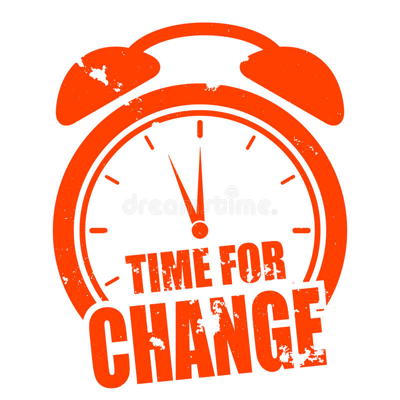 ändra tid vektor illustrationer