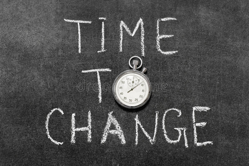 ändra tid till arkivbild
