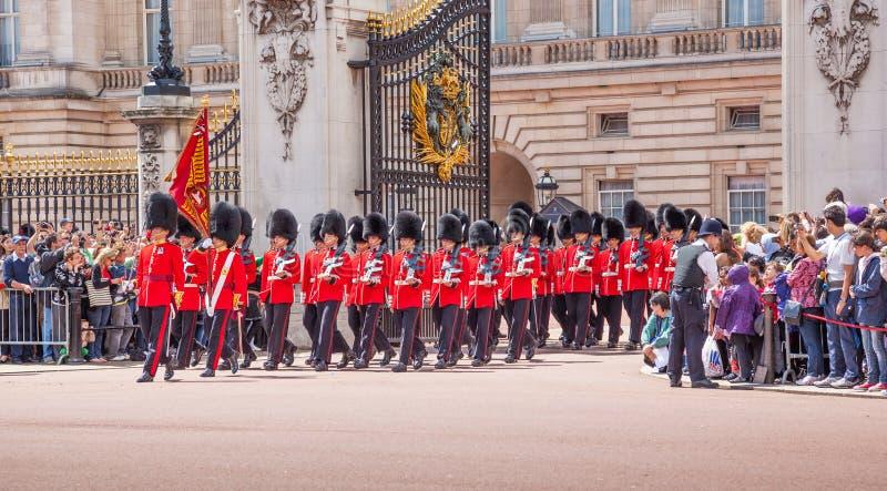 ändrande guard royaltyfri bild