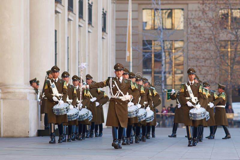 ändrande guard för ceremoni royaltyfri bild