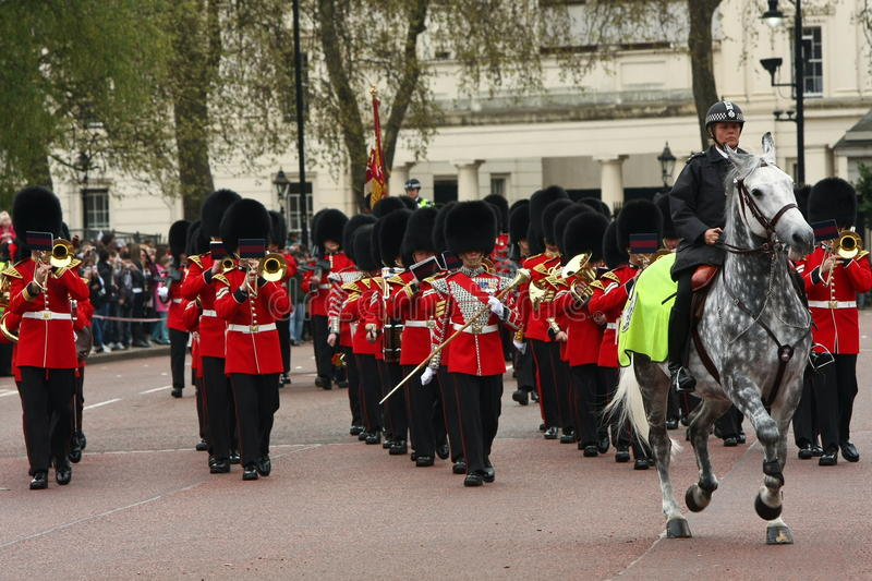 ändrande guards för ceremoni royaltyfria foton