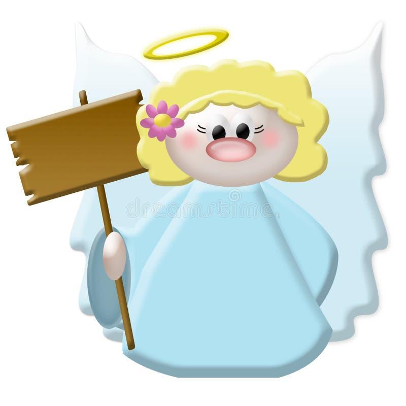 Download ängel stock illustrationer. Illustration av himmlar, angie - 32536