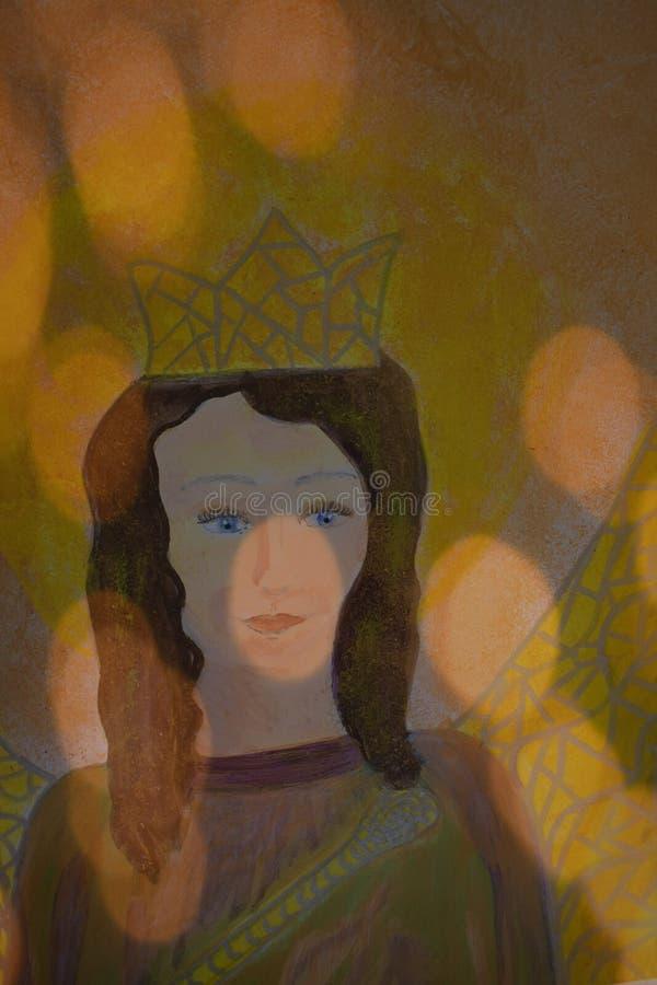 Ängel av det suveränt royaltyfri illustrationer