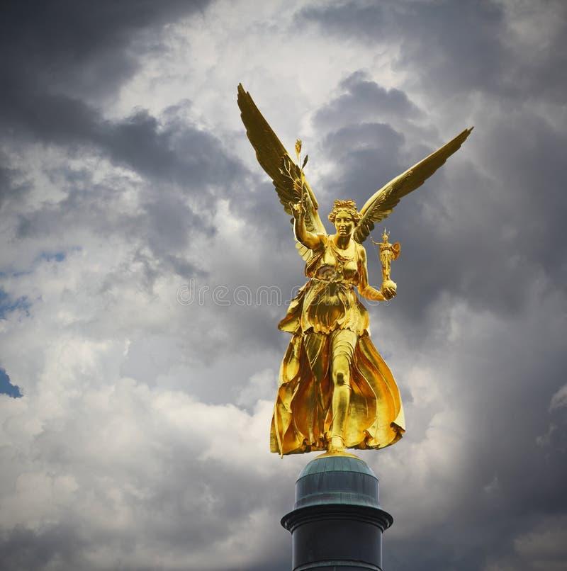 Ängel av fred royaltyfria foton