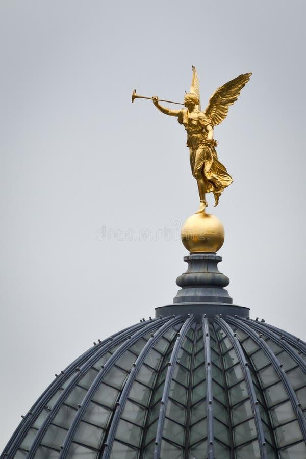 ängel dresden royaltyfria foton