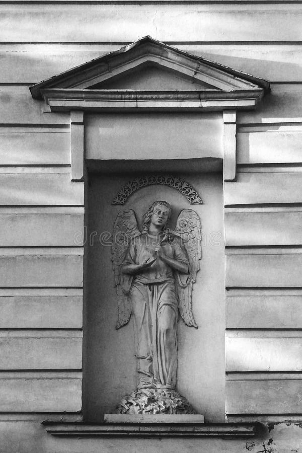 Ängel från en sten royaltyfri bild