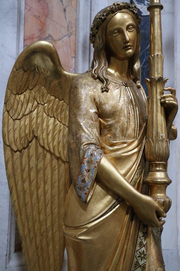 Download ängel rome fotografering för bildbyråer. Bild av past - 76703925
