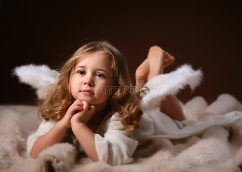 ängelbarn arkivbilder