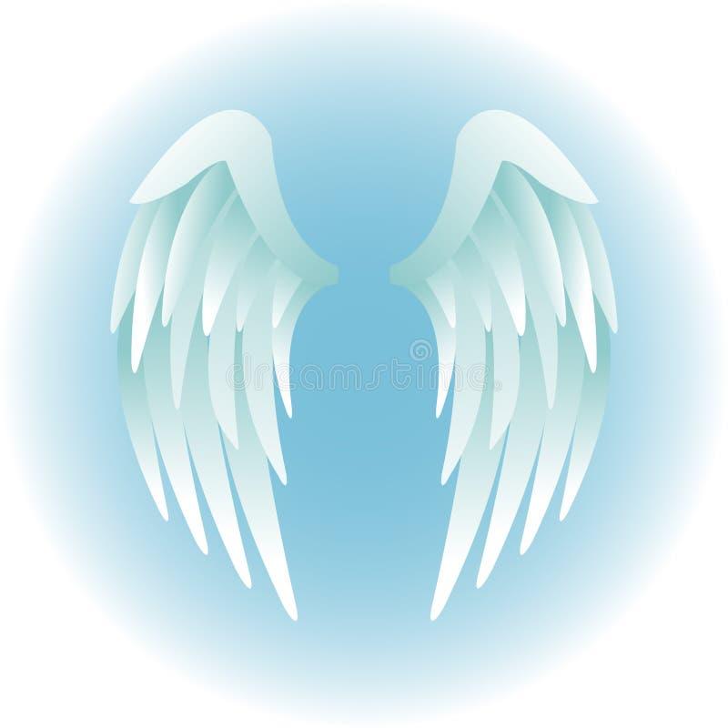 ängeleps-vingar vektor illustrationer