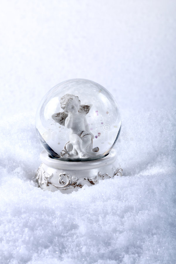 ängelexponeringsglassphere royaltyfri fotografi