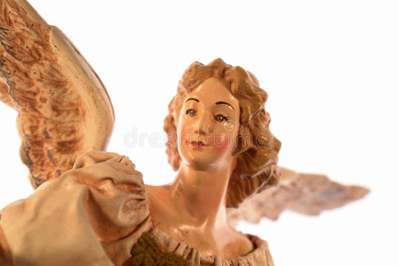 ängeljultree royaltyfri bild
