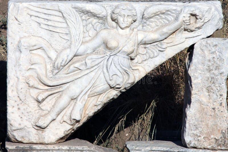 Ängeln av Ephesus royaltyfri bild