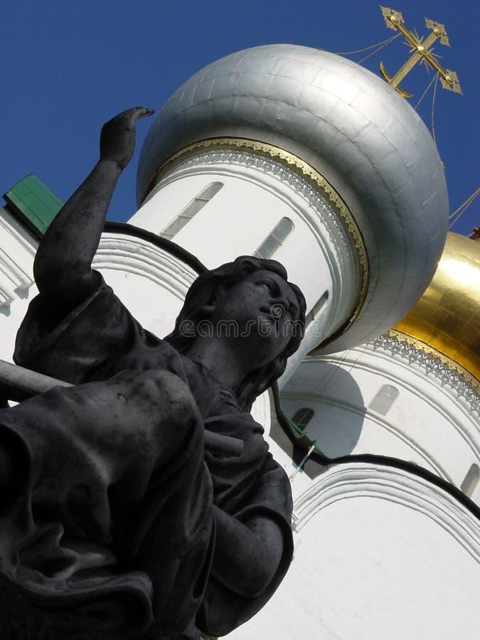 Download ängelskulptur fotografering för bildbyråer. Bild av skulptur - 26855