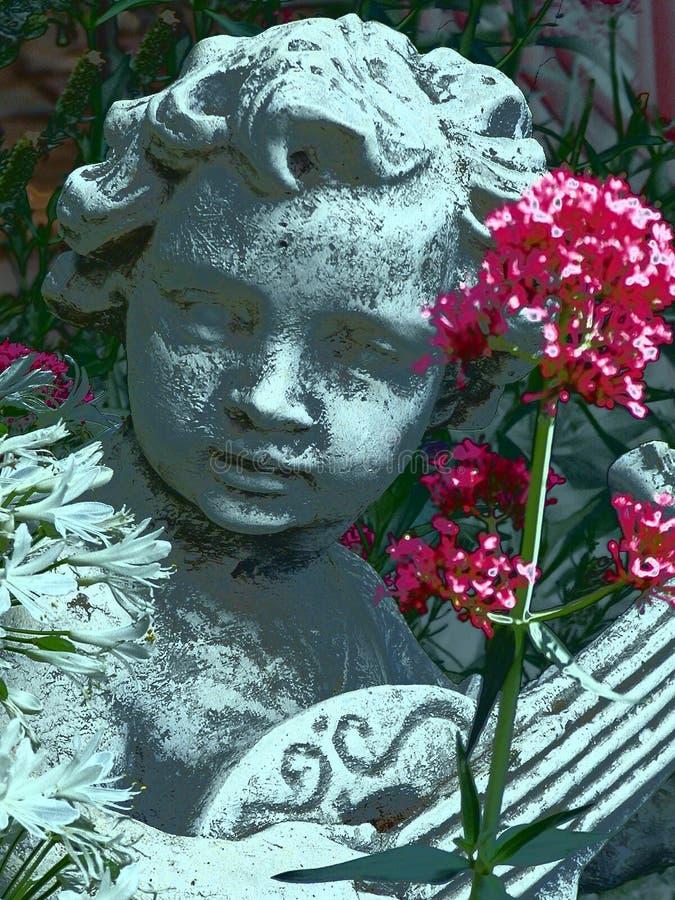ängelträdgård arkivfoton