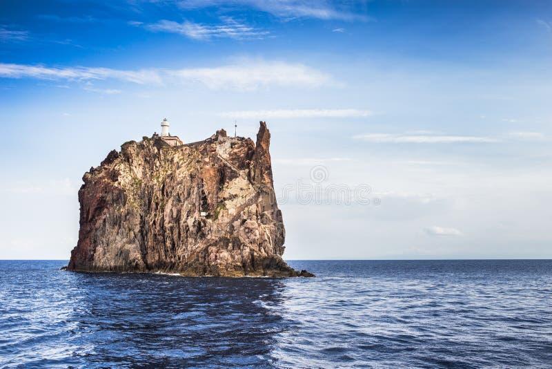 Äolische Inseln stockfoto