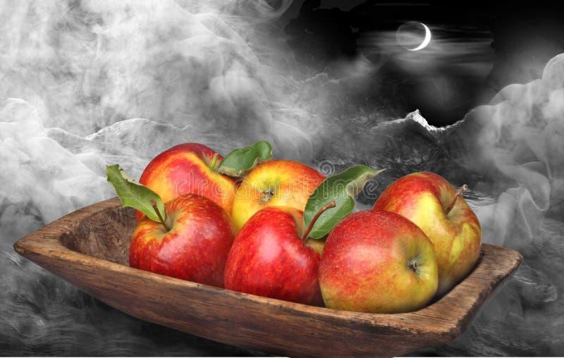 Download Äpfel stockbild. Bild von wolken, koch, frisch, himmel - 26353581
