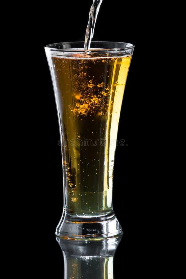 Äppelcider öl arkivfoton