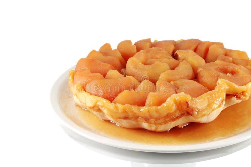 Äppelpaj - Tarte Tatin royaltyfria bilder