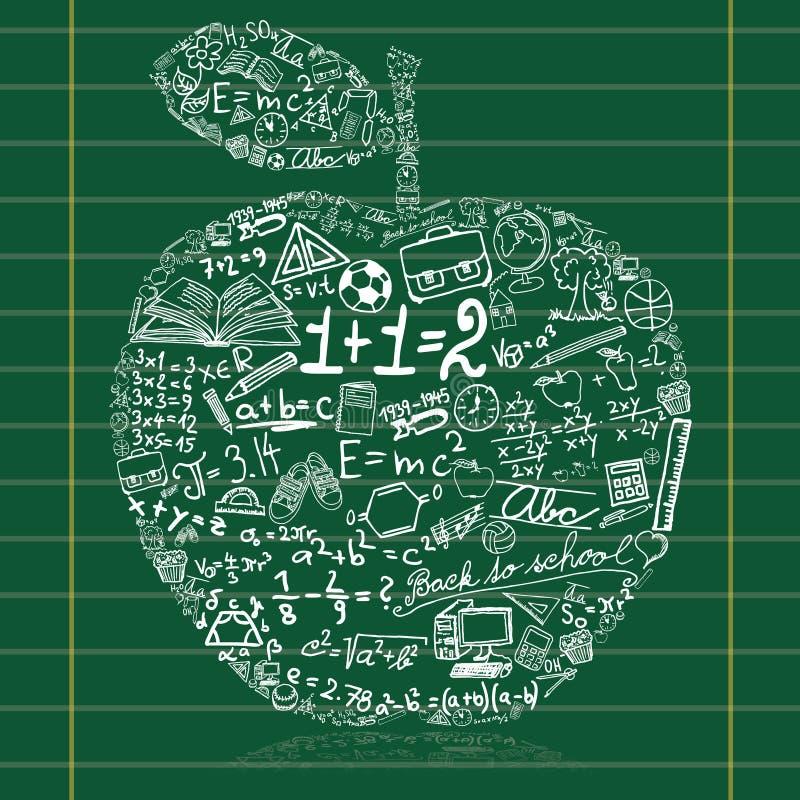 äpple vektor illustrationer
