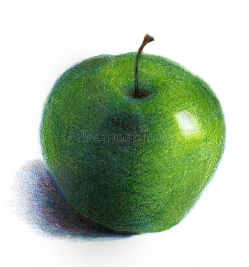 äpple - green royaltyfria foton