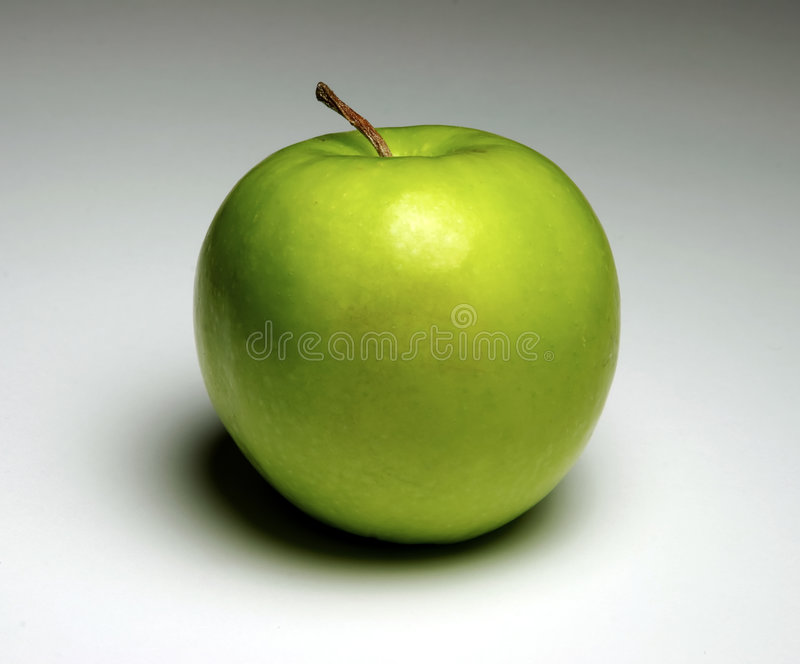 Download äpple - green fotografering för bildbyråer. Bild av näring - 505875