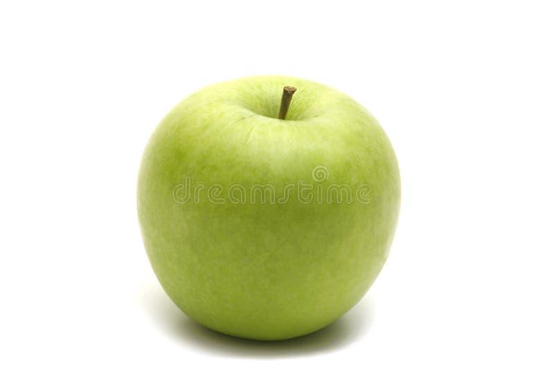 äpple - green en royaltyfri fotografi