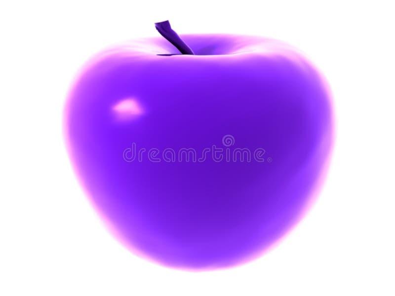 äppleblue vektor illustrationer