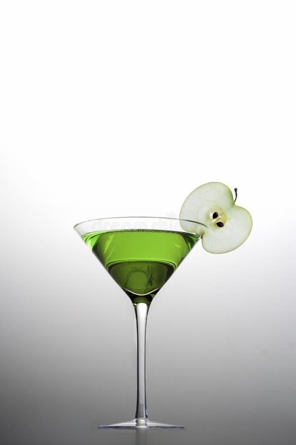 äpplecoctail martini royaltyfria foton