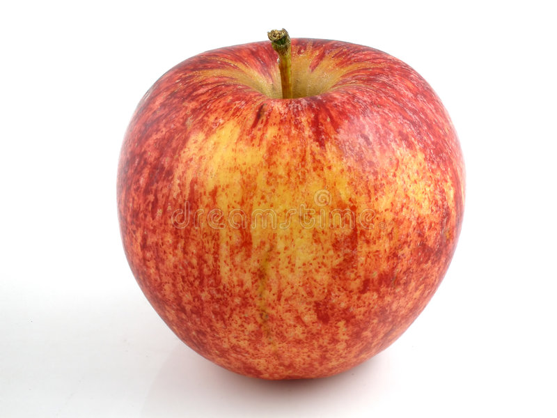 äpplegala arkivbilder