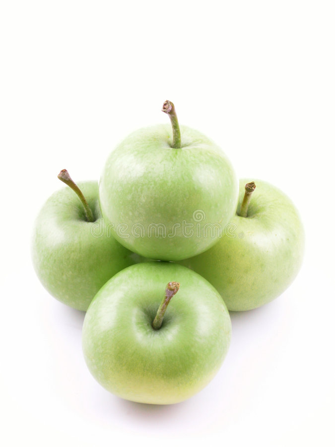 äpplegreen arkivfoton