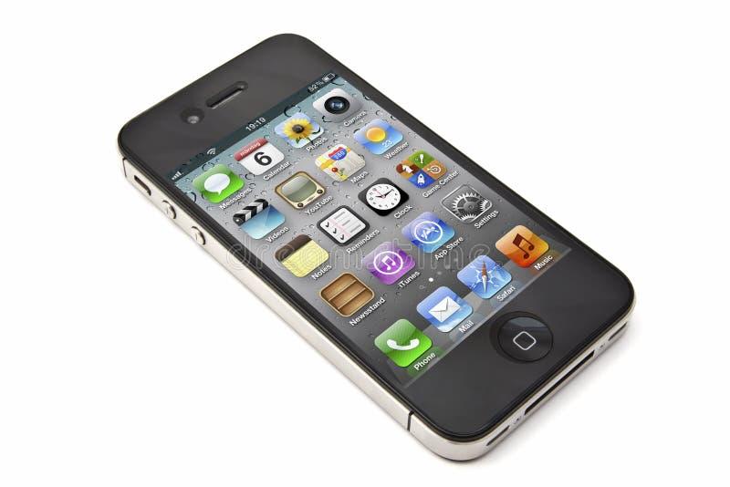 äppleiphone royaltyfri bild