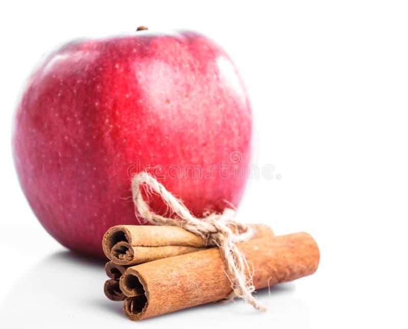 äpplekanel arkivbilder