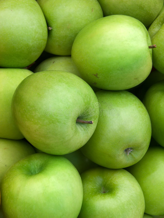 äpplen bär fruktt green royaltyfri fotografi