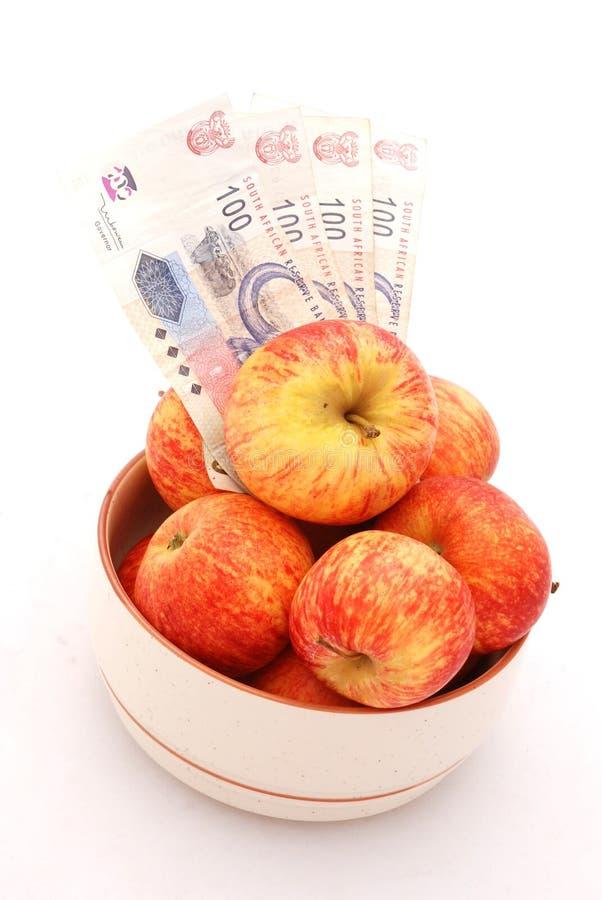 äpplepengar arkivbild
