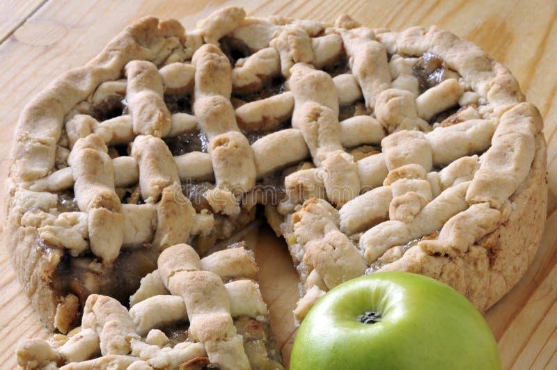 äpplepie arkivfoto