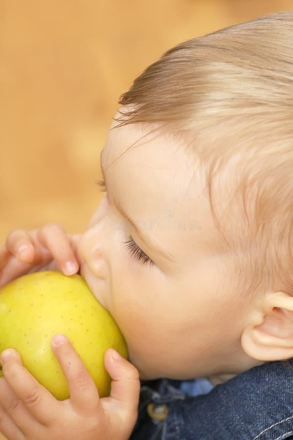äpplepojke royaltyfri bild