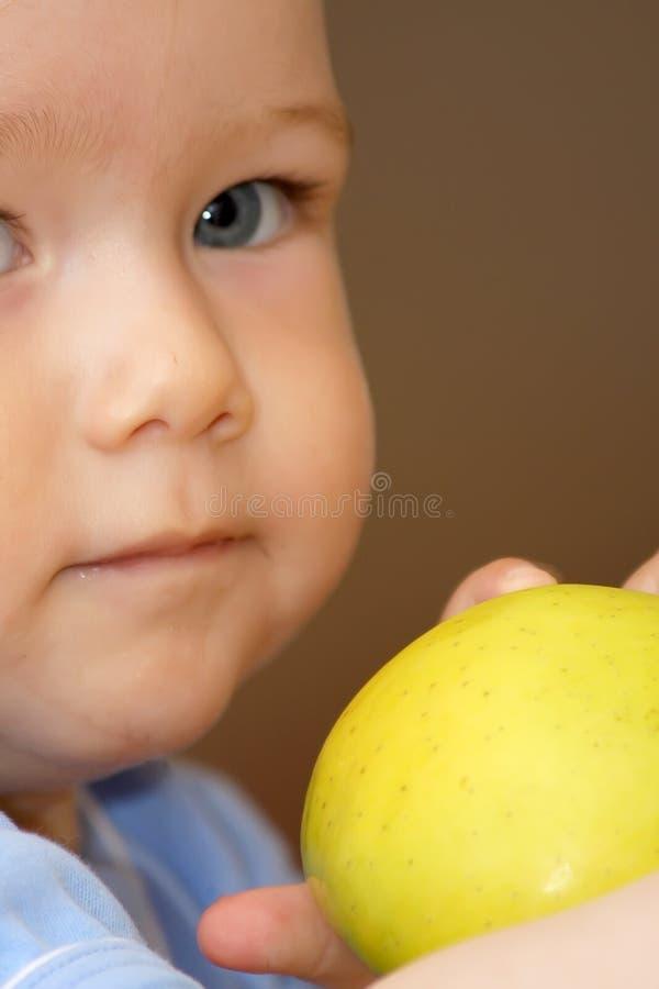 äpplepojke royaltyfria foton