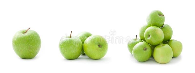 äpplesamlingsgreen royaltyfria bilder