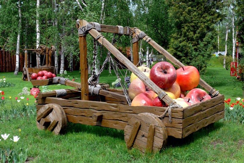 äppleslangbåge royaltyfri fotografi