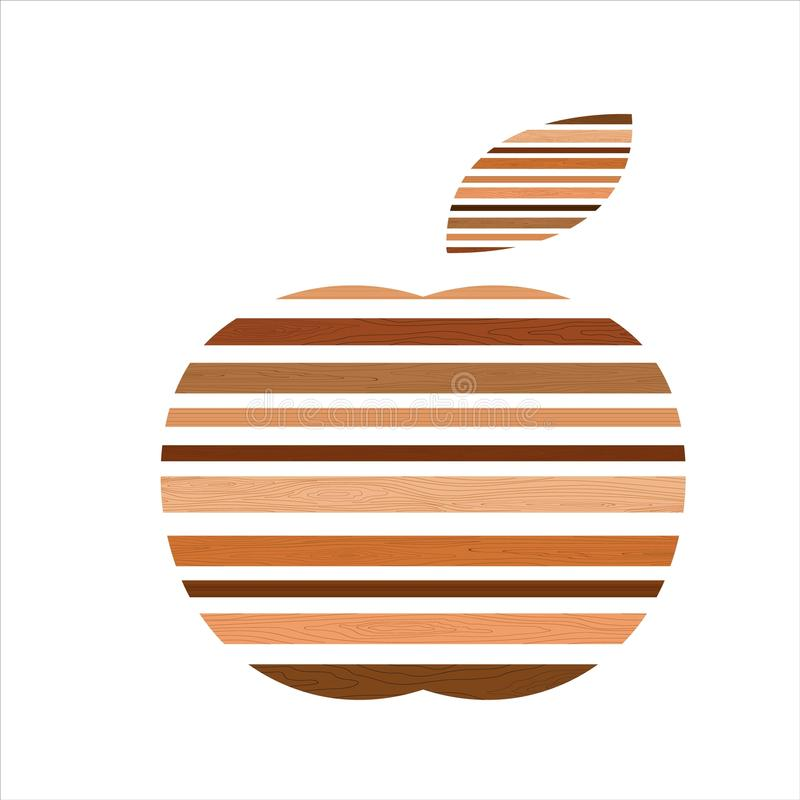 Äpplet royaltyfria bilder