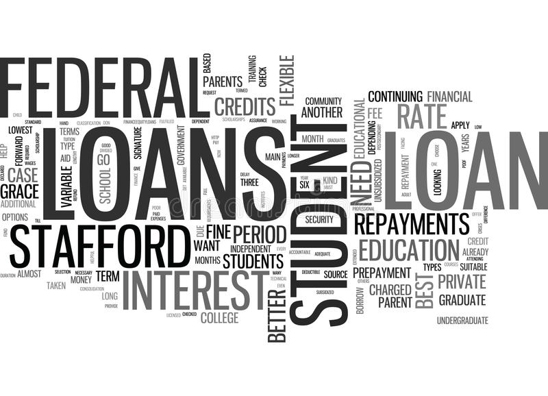 Är någon student Loans Better Than som andra uttrycker molnet vektor illustrationer