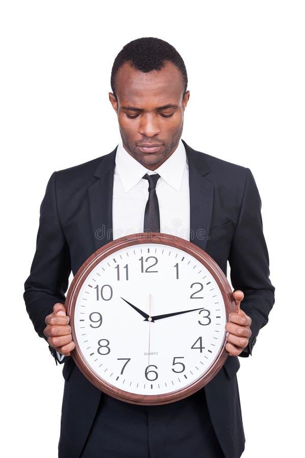 Är vilken tid det nu? royaltyfria foton