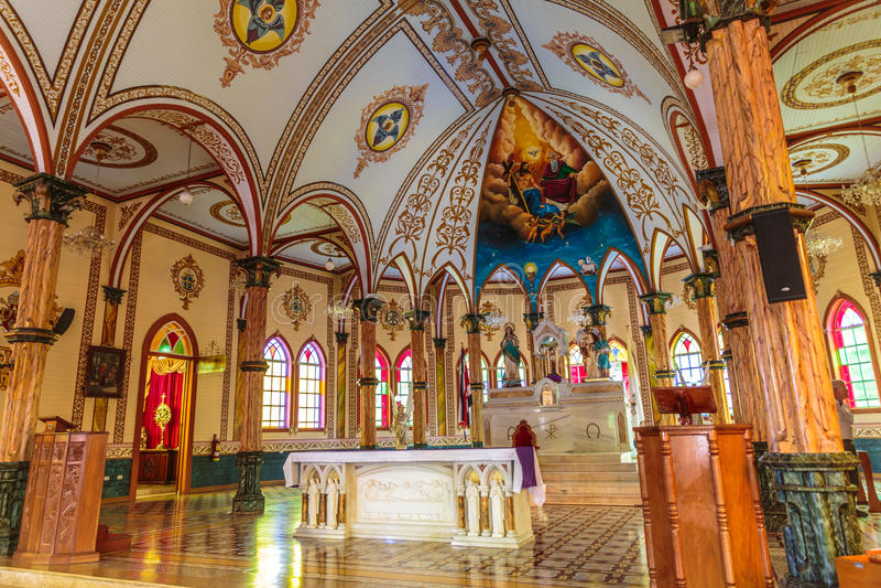 Ärkeängel Gabriel Church royaltyfri bild
